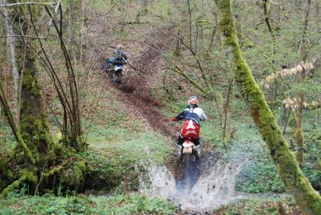Enduro tochten in de mooie Auvergne